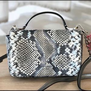 Kate Spade Snake Embossed Top Handle Crossbody